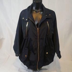 Michael Kors Jacket Blue S Small Navy Blue    W25